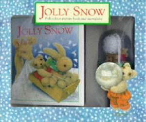 Jolly Snow Book & Snow Globe by Jane Hissey