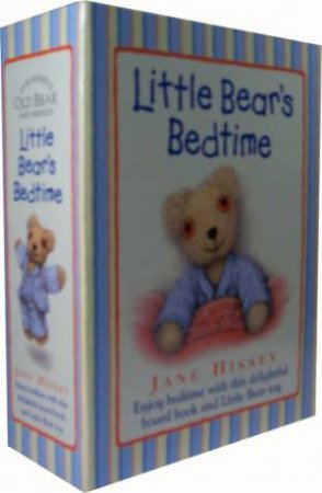 Little Bear's Bedtime - Book And Toy by Jane Hissey