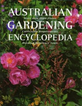 Australian Gardening Encyclopedia by Margaret Olds & Kate Etherington