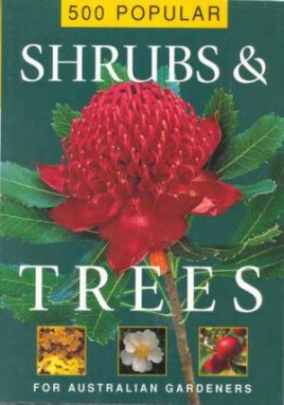 500 Popular Shrubs And Trees by Loretta Barnard