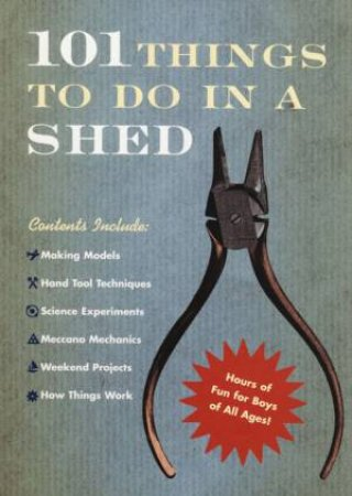 101 Things To Do In A Shed by Rob Beattie