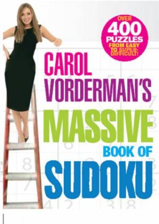 Massive Book Of Sudoku by Carol Vorderman