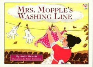 Mrs Mopple's Washing Line by Anita Hewett & Robert Broomfield