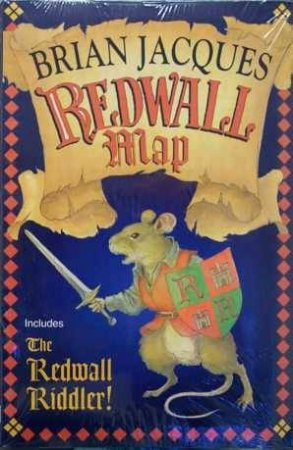 A Tale Of Redwall: Redwall Map And Riddler by Brian Jacques
