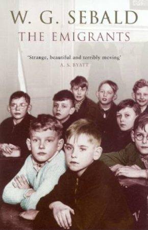 The Emigrants by W G Sebald