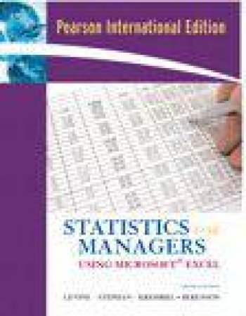 Statistics Manager Using Microsoft Excel Package Pie by Levine