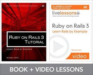 Ruby on Rails 3 Tutorial LiveLessons Bundle: Learn Rails by Example by Michael Hartl