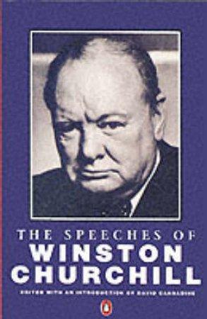 The Speeches Of Winston Churchill by Winston S Churchill