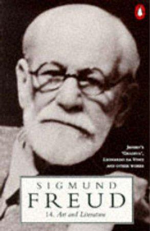 Freud: Art & Literature by Sigmund Freud
