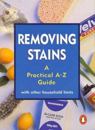 Pocket Penguin: Removing Stains by Margaret Geddes