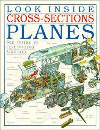 Look Inside Cross-Sections: Planes by Dorling Kindersley