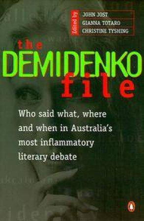 The Demidenko File by John Jost
