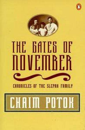 The Gates Of November by Chaim Potok