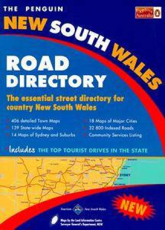 The Penguin New South Wales Road Directory by Various