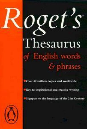Roget's Thesaurus of English Words & Phrases by Betty Kirkpatrick Ed.