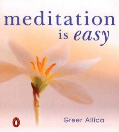 Meditation Is Easy by Allica Greer