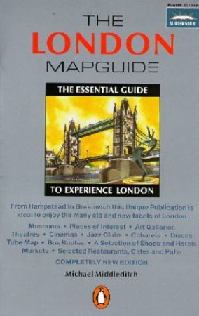 The Penguin London Mapguide by Michael Middleditch