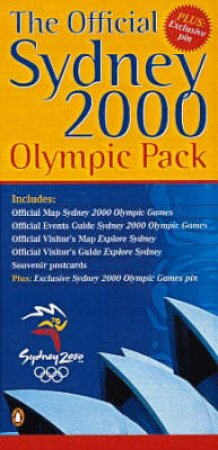 The Official Sydney 2000 Olympic Pack (Official Map & Guide, Visitor's Map & Guide, Postcards, by Various