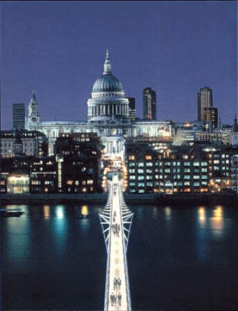 Blade Of Light: Story Of The Millennium Bridge by Colin Amery