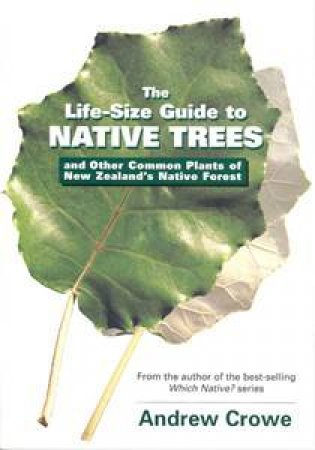 Life Size Guide To Native Trees & Other Common Plants Of New Zealand by Andrew Crowe