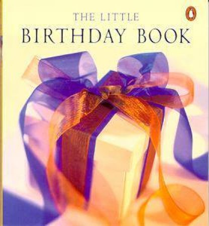 Little Birthday Book by Anonymous
