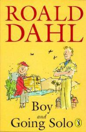 Boy And Going Solo Omnibus by Roald Dahl