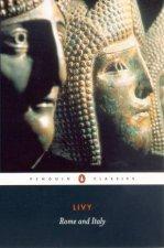 Penguin Classics: Rome & Italy by Livy