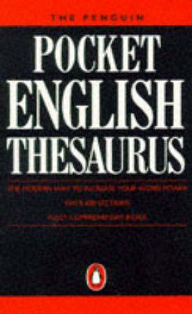 Penguin Pocket English Thesaurus by Fay Carney