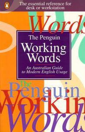 The Penguin Working Words by Barrie Hughes