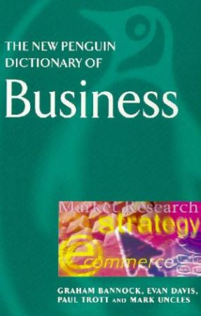 The New Penguin Dictionary Of Business by Various