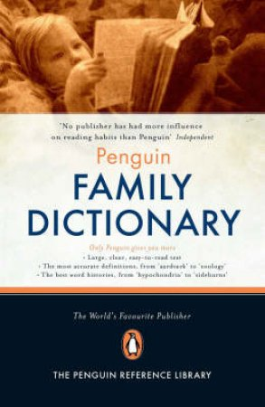 Penguin Family Dictionary by Robert Allen (Ed.)