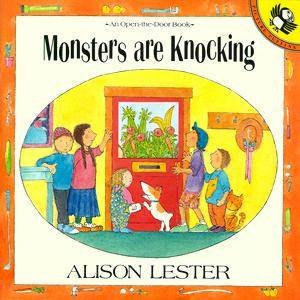 Monsters Are Knocking: Open the Door Book by Alison Lester