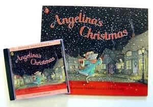 Angelina's Christmas plus CD by Katharine Holabird