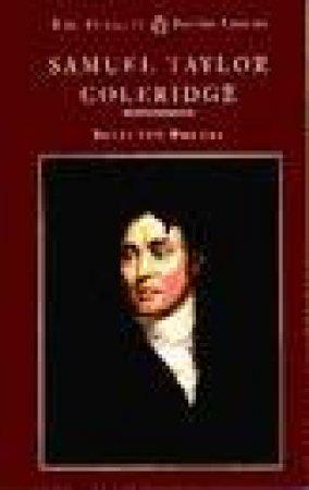 Coleridge: Selected Poetry by Samuel Taylor Coleridge