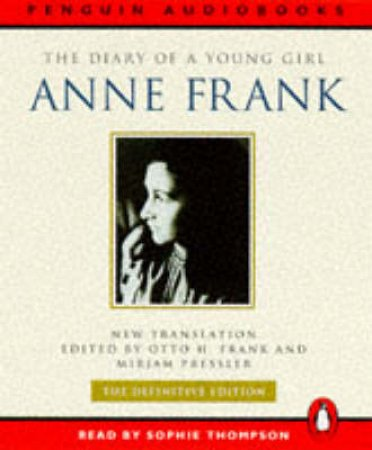The Diary Of A Young Girl - Cassette by Anne Frank