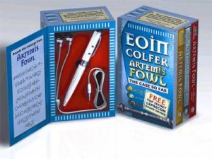 Artemis Fowl Book & Radio Pen by Eoin Colfer