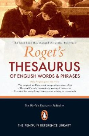 Roget's Thesaurus Of English Words & Phrases by George Davidson (Ed)