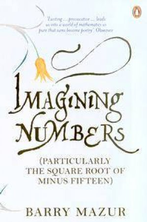 Imagining Numbers (Particularly The Square Root Of Minus Fifteen) by Barry Mazur