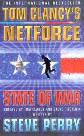 State Of War by Tom Clancy & Steve Pieczenki & Steve Perry
