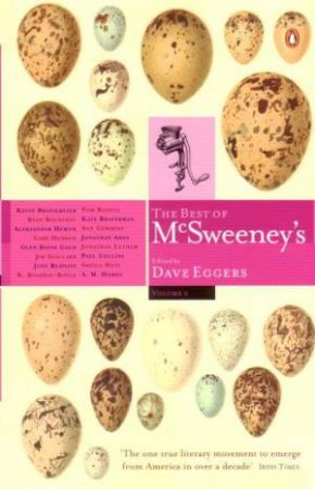 The Best Of McSweeney's Volume 2 by Eggers Dave Ed