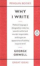 Great Ideas Why I Write
