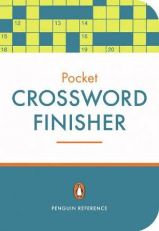The Pocket Crossword Finisher by Roger Prebble (Ed.)