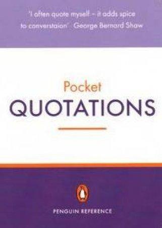 Pocket Quotations by David Crystal