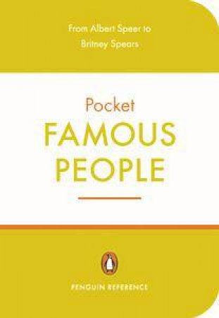 Penguin Pocket: Famous People by David Crystal (Ed.)