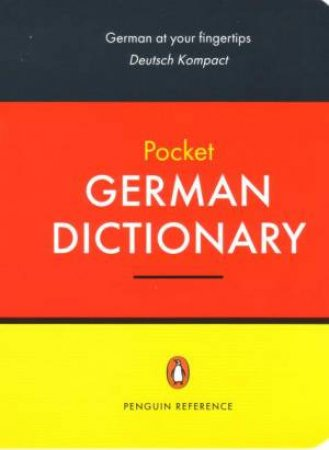 Penguin Pocket German Dictionary by Peter Lewis (Ed.)