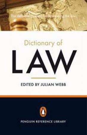 Dictionary of Law: Penguin Reference Library by Various