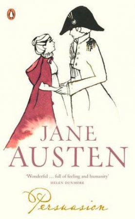 Persuasion Red Classic by Jane Austen