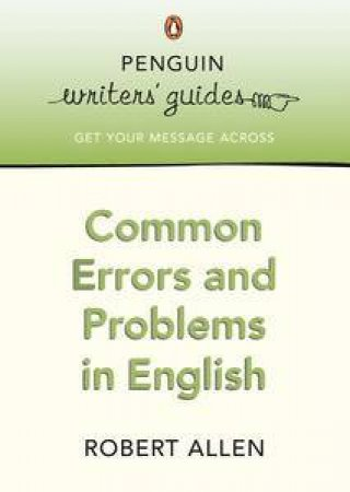Common Errors in English by Robert Allen
