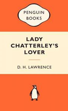 Popular Penguins: Lady Chatterley's Lover