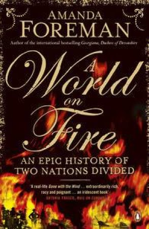 A World on Fire: An Epic History of Two Nations Divided by Amanda Foreman